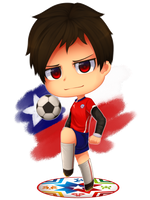 Copa America 2015 Chile by Naikoh