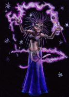 Hedge-Mage, Violet Magic 2012 (Bartmagus) by I-Love-My-Pencils