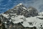Snowy Mountain Wallpaper by Burtn