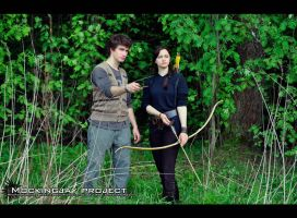 Gale and Katniss Mockingjay project by sahramorgan