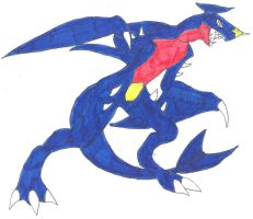 garchomp 2 by VipertheWyvern