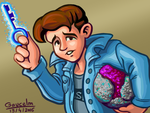 Dave (Maniac Mansion) by gaucelm