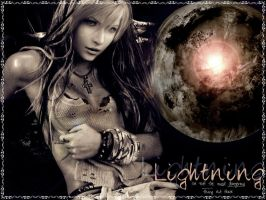 Lightning Wallpaper by FantasyRockGirl