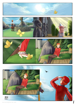 Mysims Kingdom - page 1 by Kattinx