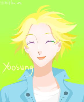 Yoosung by Aradiantha