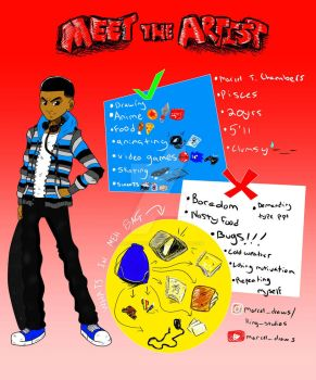 #MeetTheArtist by marceldraws96