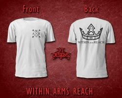Within Arms Reach 'Crown' Shirt (White) by JYTDesigns