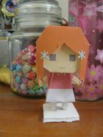 Inoue Orihime Papercraft by Shinigamichick39