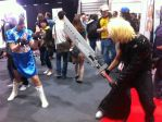 Cloud vs Chun Li by LeoArcticaa