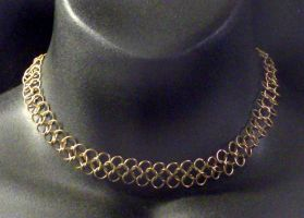 Brass Chainmail Chain by MorganCrone
