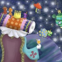 Katamari on the Stage by sosiqui