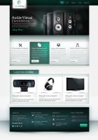 Comms Partner Website design by yuval10203