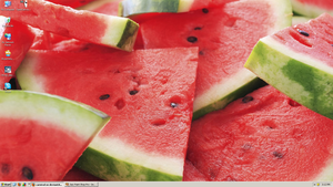 Watermelon Widescreen by carnival