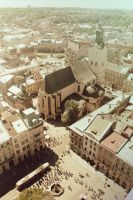 Lviv from above 7 by julismith