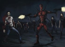 deadpool by wll4u