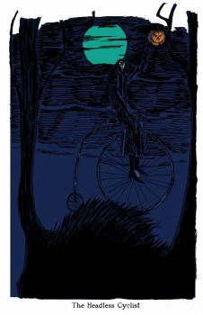 The Headless Cyclist by herbertzohl