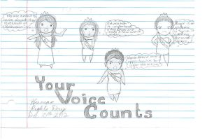 Your Voice Counts by ScrewYouWorld