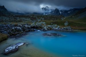 Blue and grey by matthieu-parmentier