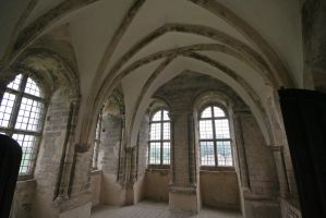 Interior Castle Rising by sags