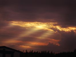 Burning in the skies by CanDiCoTT