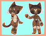 Kit Cat adopt [CLOSED] by zombie-kity