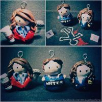 Double Beckett and Clay Crime Scene by StandsWithAPencil