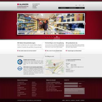 Web Page Layout by femographi