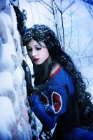 Snow princess. by Verrett