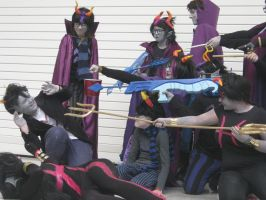 Homestuck group photo// Poor Cronus by Strike2000