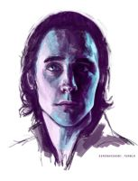 Loki - Quick Sketch by ChristyTortland