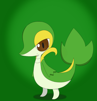 Snivy by PokeHihi