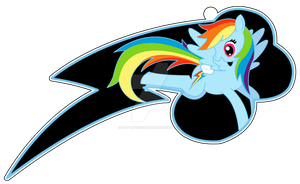 Rainbow Dash Cutie Mark by BrittanysDesigns