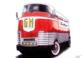 1227 - 23-02 - 1940 GM Futurliner by TwistedMethodDan