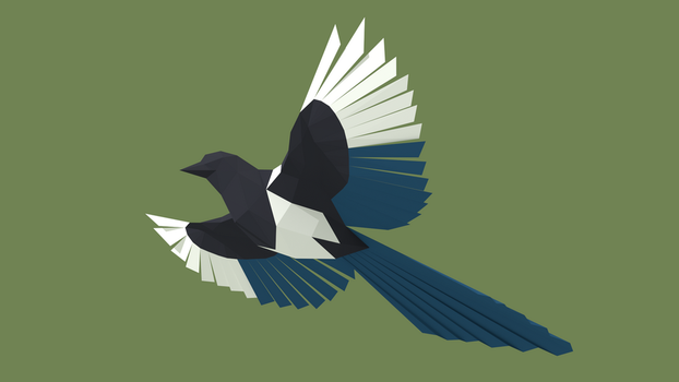Magpie Teaser by Gedelgo