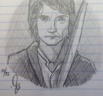 Bilbo. . .ish. by CheshireGrinMoon