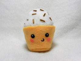 Little Cupcake Plush by EmilyHitchcock