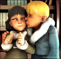 [SFM]Olivia and Jack by Mialya