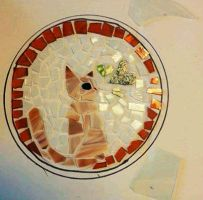 Kitty Stepping Stone by PurryProductions-Inc