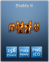 Diablo II Vista Ready Icon by Th3-ProphetMan