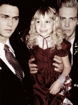 Claudia, Lestat and Louis by xredhairwonderx