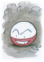 Electrode Sketch Card by melllic