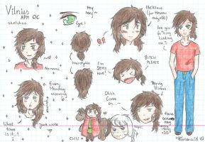 aph: Some doodles with Vilnius Q3Q by LoveEmerald