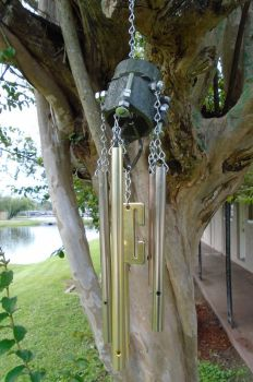 Scrap Windchimes IV by lizking10152011
