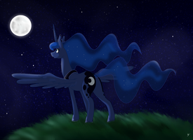 MLP: Luna by Heloise78