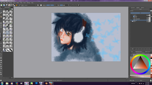WIP: Digital Paintng using Krita by kaisaki1342