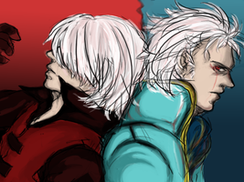 dante,vergil by maz444