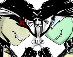 Guns by Hashiree