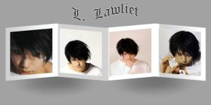L. Lawliet in frame by Rosemary09