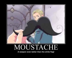 APH: Moustache... Be afraid... by MaraCroft3