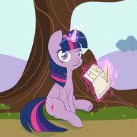 Studying by aprricity
